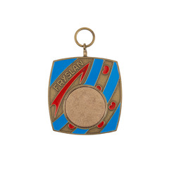 Old medal isolated