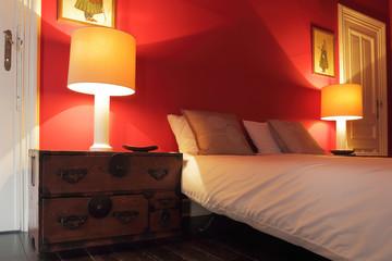 chambre à coucher de charme