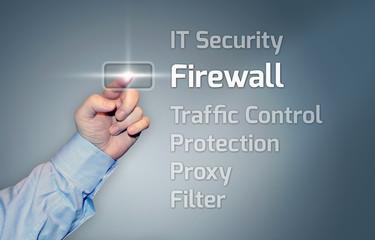 "Virtual Touchscreen ""Firewall"""