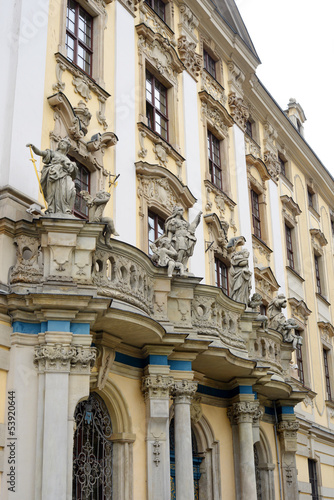Wroclaw University Baroque Buildung © Sinuswelle
