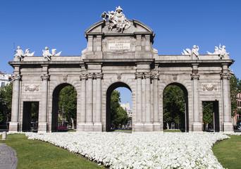 Puerta de Alcala. Madrid, Spain