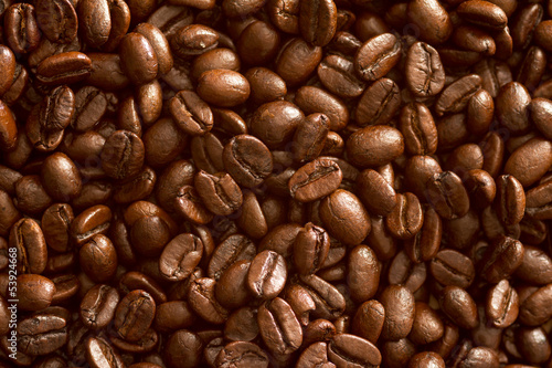Background: coffee beans