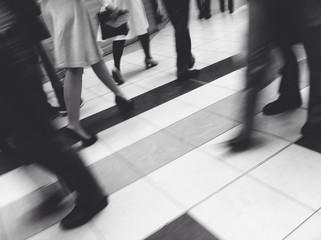 Tacones en un centro comercial