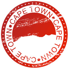 Stamp - Cape Town, South Africa