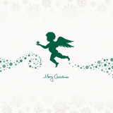 Angel Holding Star Beige/Green