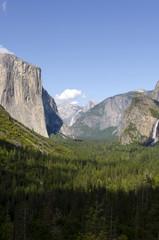 panorama nello Yosemite National Park in California