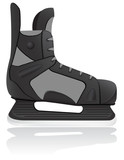 hockey skates vector illustration