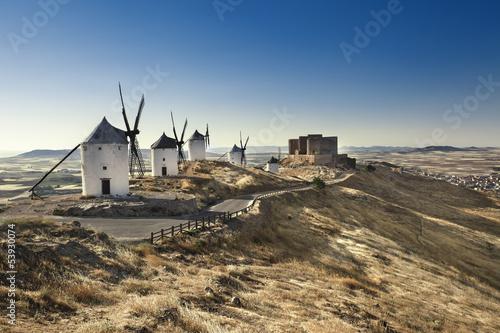 Moulins de Don Quichotte à Consuegra - Espagne