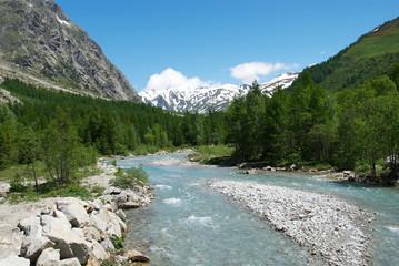 Valle d'Aosta. La Val Ferret