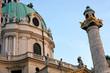 Karlskirche Church in Vienna, Austria