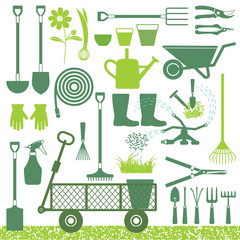 Gardening related icons 2