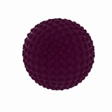 Abstract sphere with pimples poster