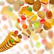 many delicious delicacies