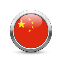 Chinese flag icon web button