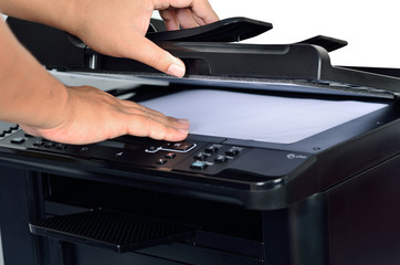 multifunction printer with scanning