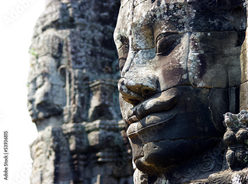 Bayon's big faces