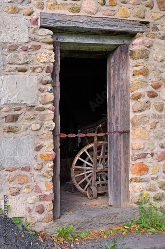 Doorway in Old Building