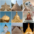 Different monuments and important sites in Burma