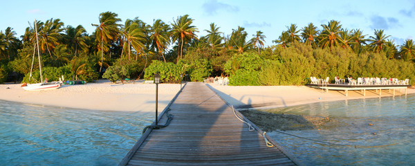 Embudu Island, Maldives.