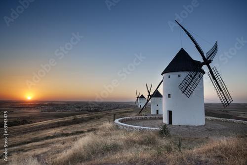 Moulins de Don Quichotte - Espagne - Antonio GAUDENCIO