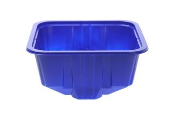 Blue Plasitic Container