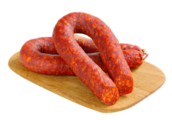 Spicy sausages