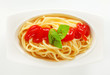 Spaghetti with ketchup
