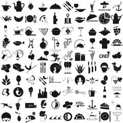 Icone per la gastronomia
