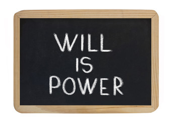 will is power