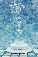 jet d'eau de piscine