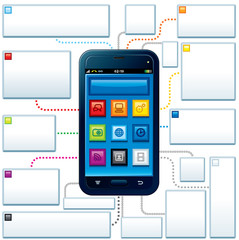 Touchscreen Mobile Phone Guide Template