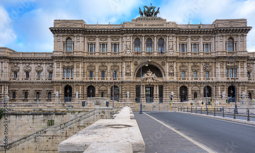 Palace of Justice (Palazzo di Giustizia) - courthouse building.