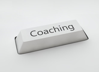 Coaching keyboard enter key