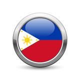 Philippine flag icon web button