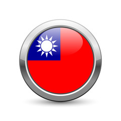 Taiwanese flag icon web button