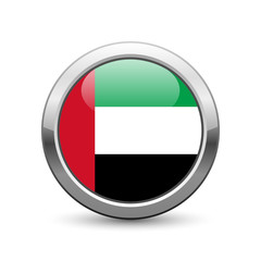 United Arab Emirates flag icon web button