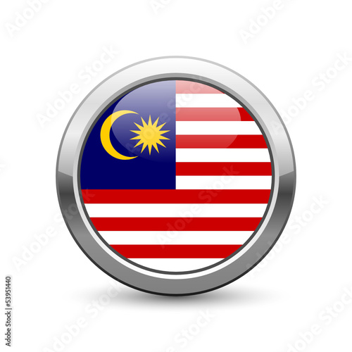 Malaysian flag icon web button