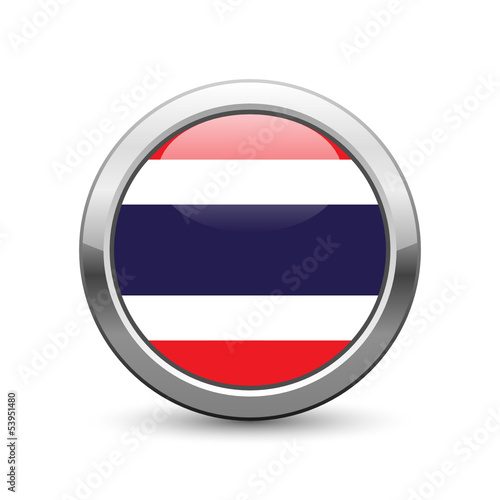 Thailand flag icon web button
