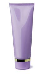 Pink cosmetics tube