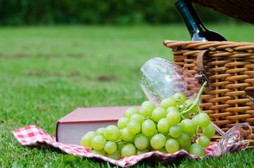 ein picknick auf einer wiese