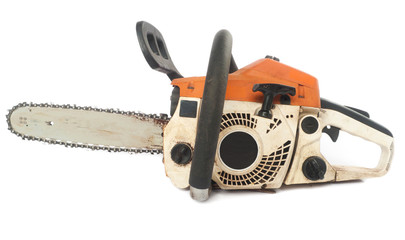 Old chain saw