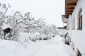 Kirchberg in Tirol, snow winter