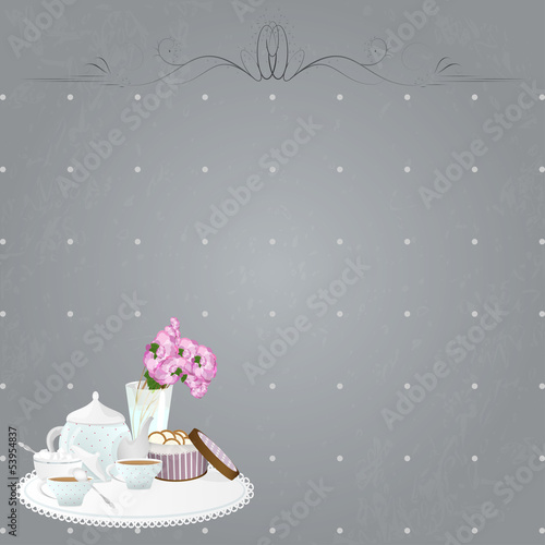 Design Shabby Tea Party.