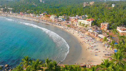 Beach holiday in South India