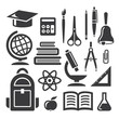 Education and science symbols