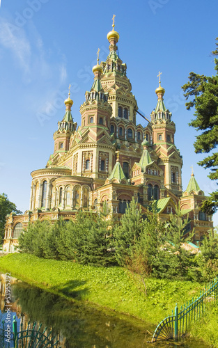 Peterhof, cathedral of St. Peter and St. Paul