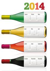 CALENDRIER-2014_Vin de Bourgogne