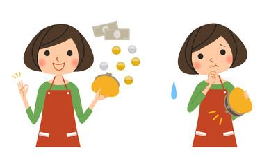 主婦-貯金