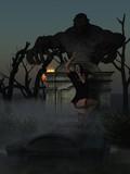 Woman having nightmare poster