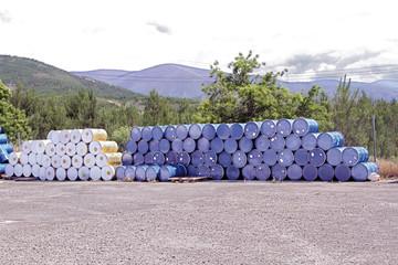 Bidones de Cooperativa Apihurdes, Pinofranqueado
